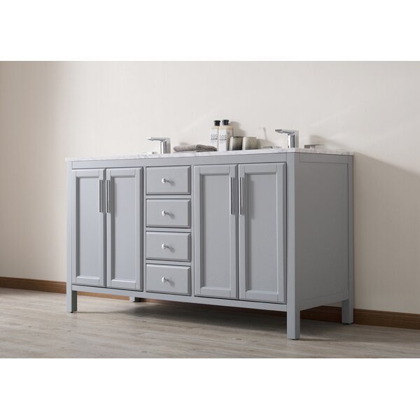 Chertsey 59'' Double Bathroom Vanity Set by Highland Dunes