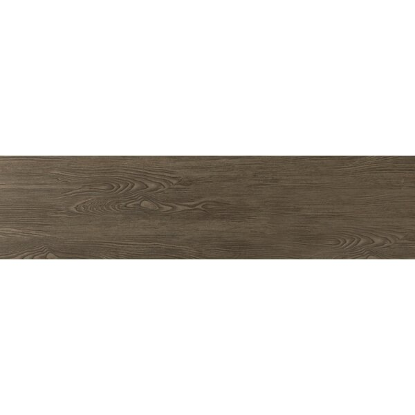Alpine 6 x 36 Porcelain Wood-Look Plank Tile in Espresso by Emser Tile