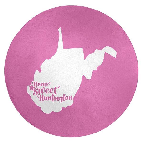 Huntington West Virginia Poly Chenille Rug