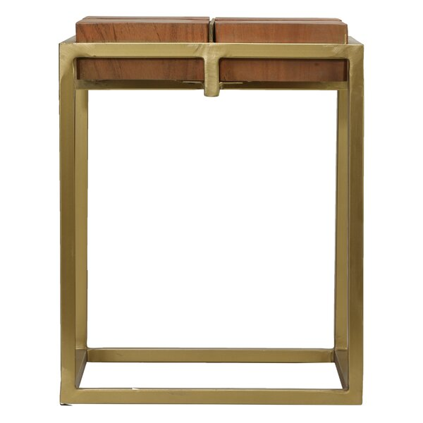 Braaten End Table by Union Rustic
