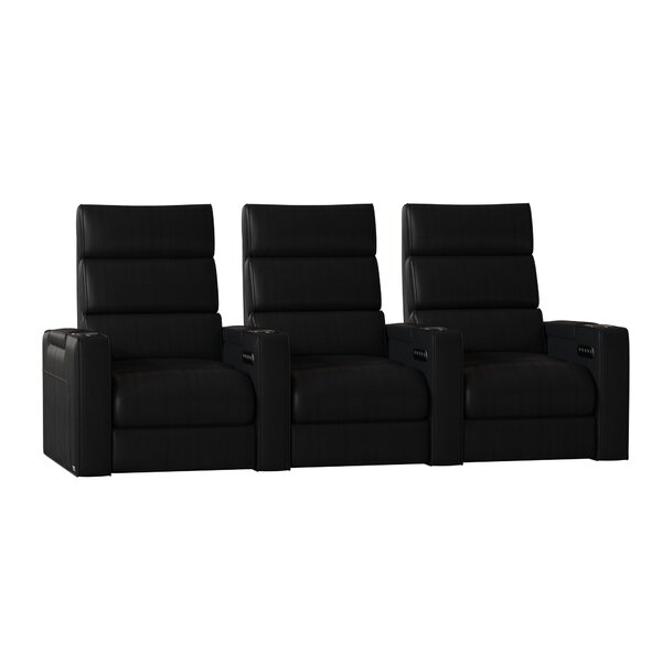 Dream HR Series Home Theater Recliner (Row Of 3) By Winston Porter