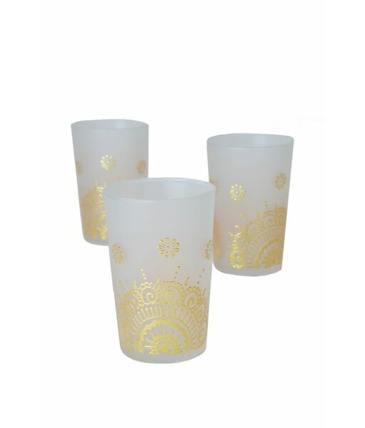 Luxury Ifrane Tea Glass (Set of 6) by Casablanca Market