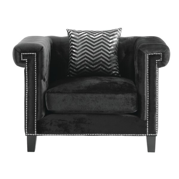 Grosvenor Chesterfield Chair by Willa Arlo Interiors
