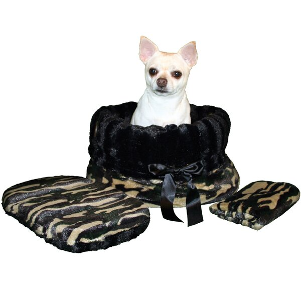 Snuggle Bug Reversible Camo Pet Carrier by Pet Flys
