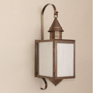 Online Reviews Cormorant Outdoor Wall Lantern By Breakwater Bay