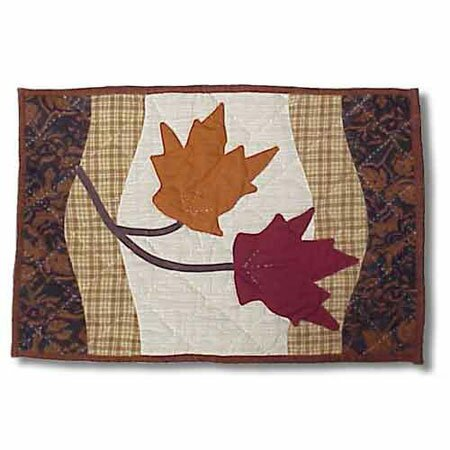Autumn Leaves Placemat (Set of 4) by Patch Magic