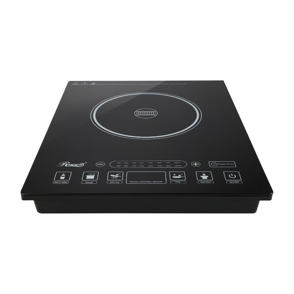 12 Induction Cooktop with 1 Burner by Rosewill
