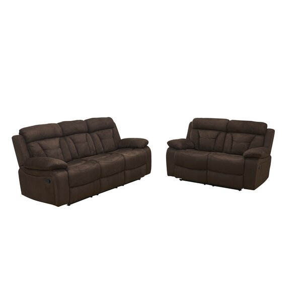 Woodhollow 2 Piece Reclining Living Room Set by Red Barrel Studio