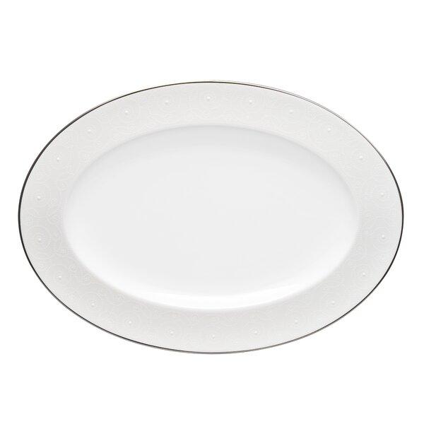 Ventina 16 Oval Bone China Platter by Noritake