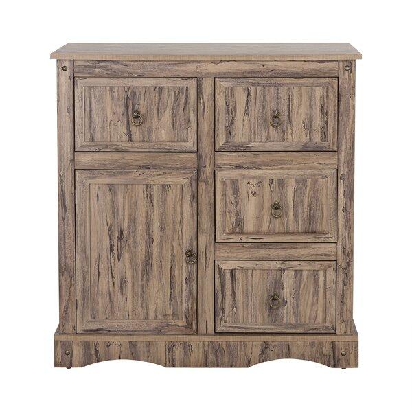Brents 4 Drawer 1 Door Accent Cabinet by Loon Peak Loon Peak