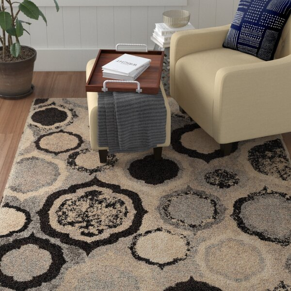 Falmer Gray Area Rug by Red Barrel Studio