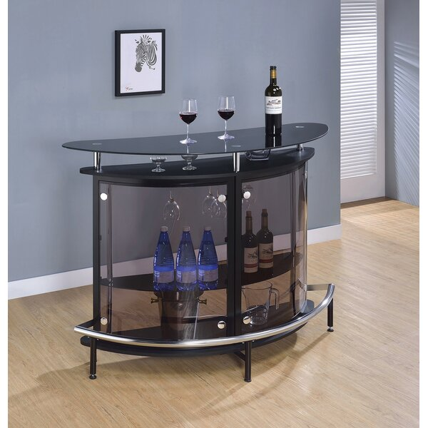 Wealden Bar With Wine Storage By Orren Ellis