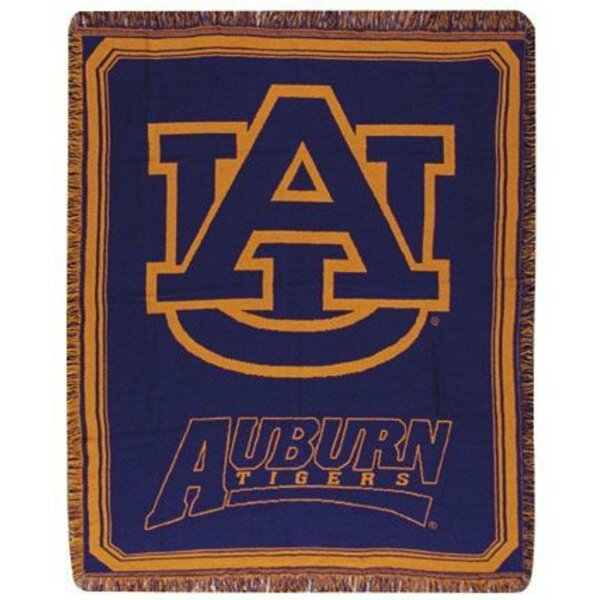 Auburn University Tigers Afghan Throw by Northlight Seasonal