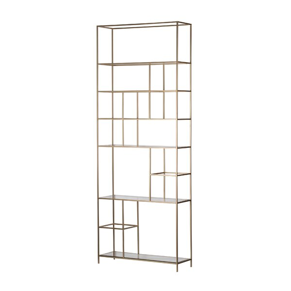 Fajardo Etagere Bookcase By Everly Quinn
