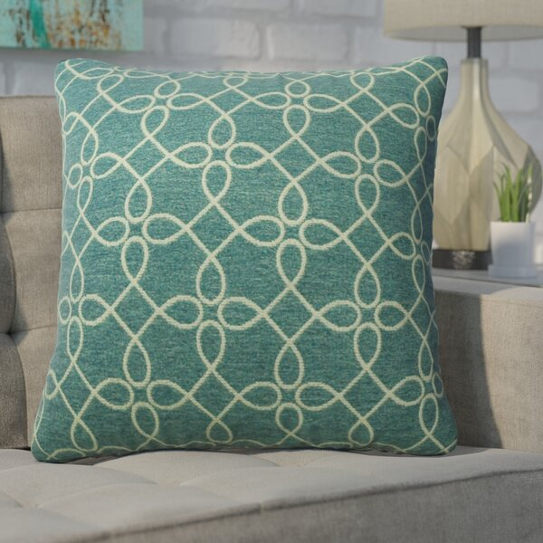 Defino Spirograph Throw Pillow by Ivy Bronx