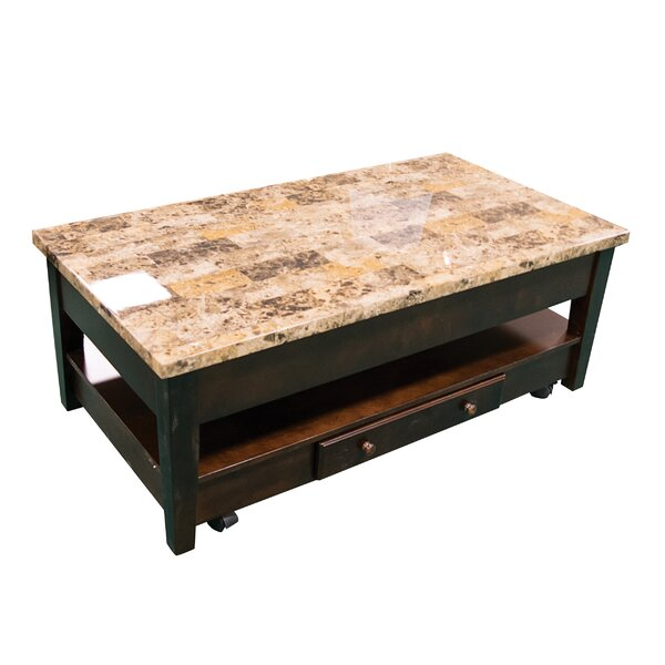 Brothers Wood Lift Top Coffee Table by Winston Porter
