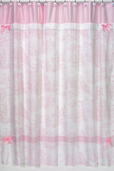 French Toile Shower Curtain by Sweet Jojo Designs
