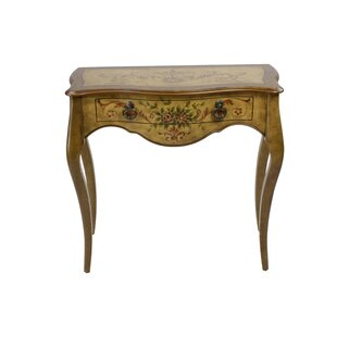 Cephas Hand Painted Wooden Console Table  sc 1 st  Wayfair & Hand Painted Console Cabinet | Wayfair