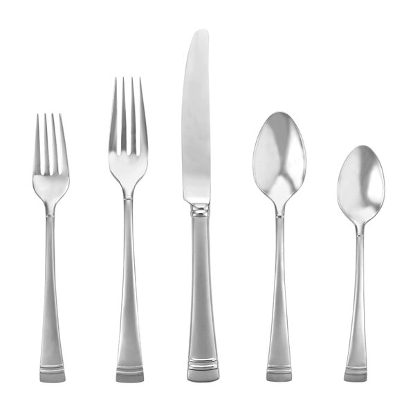Federal 5 Piece Flatware Set by Lenox