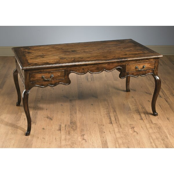 Birdsall 2 Drawer French Style Desk by Astoria Grand