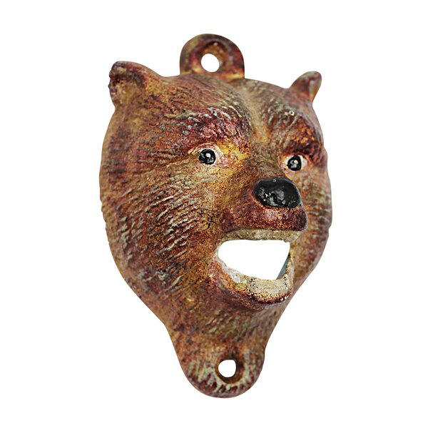 Bear of The Forest Bottle Opener (Set of 2) by Design Toscano