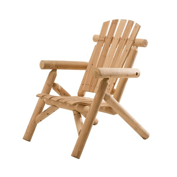 Fairbanks Solid Wood Adirondack Chair by Sunjoy