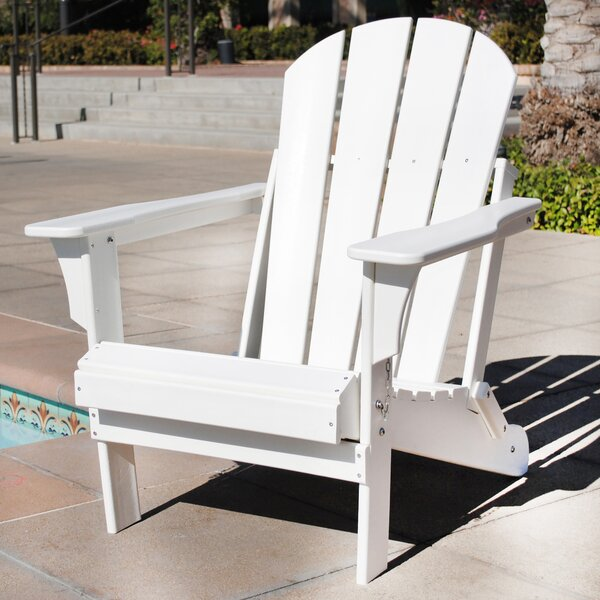 Alger Resin Folding Adirondack Chair by Highland D