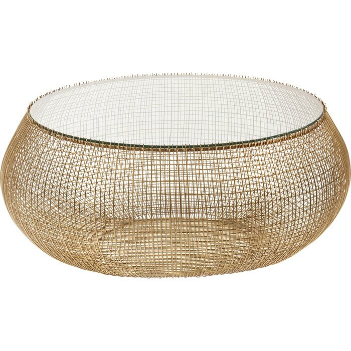 Cesta Gold Coffee Table