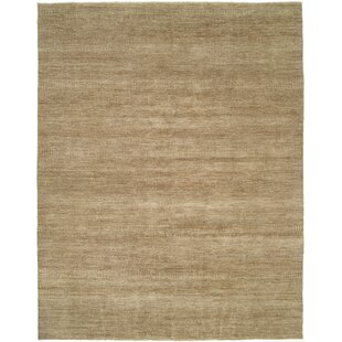 Illusions Grey/Light Brown Area Rug by Shalom Brothers