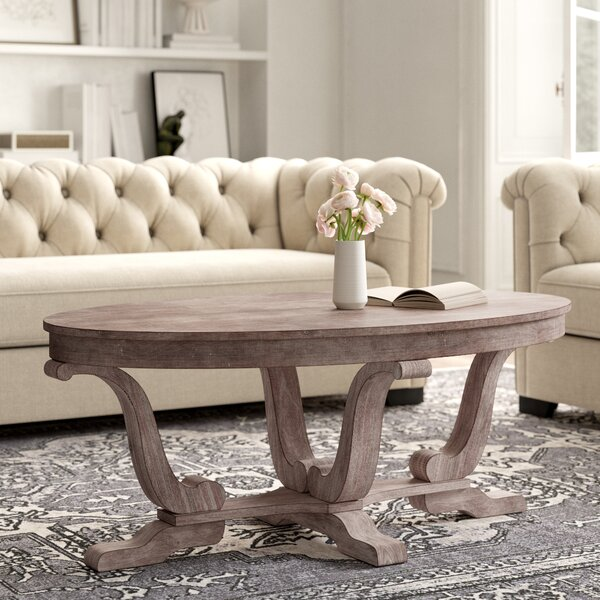 Adagio Trestle Coffee Table By Kelly Clarkson Home