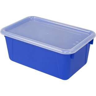 Affordable Classroom Cubby Bin with Cover ByStorex Industries