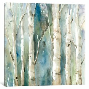 River Birch I Graphic Art on Wrapped Canvas by Loon Peak