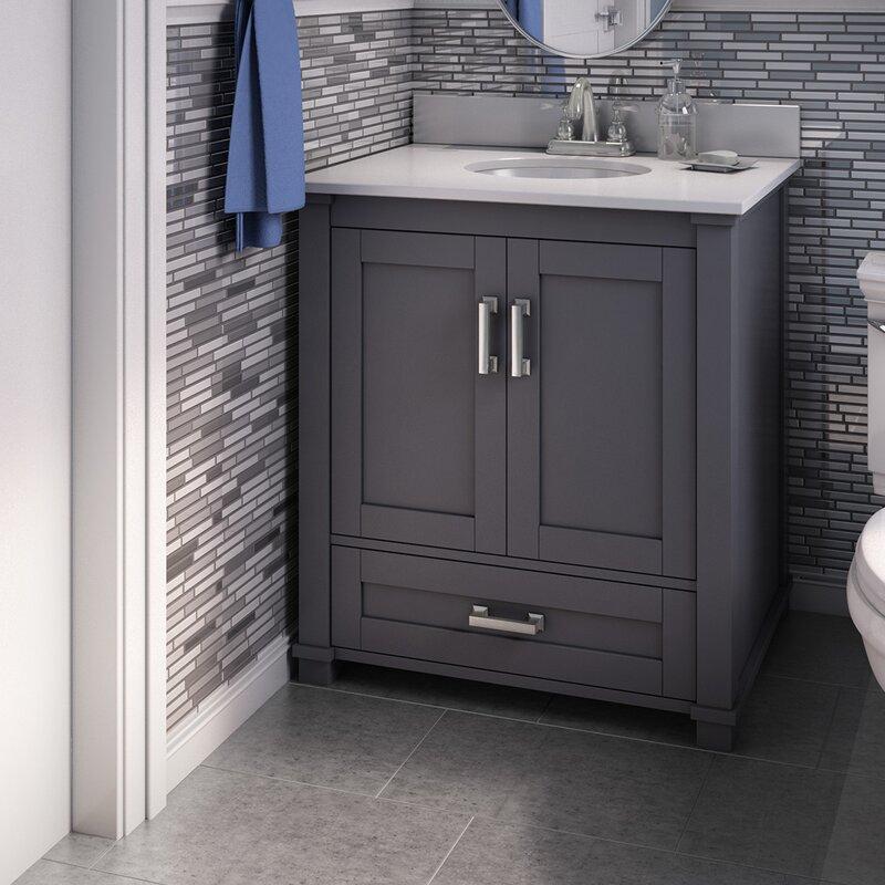 Freestanding Style 30 Single Sink Bathroom Vanity Base