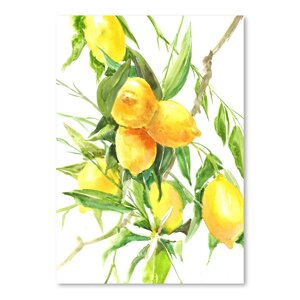 'Lemon Tree' Painting Print by Ophelia & Co.