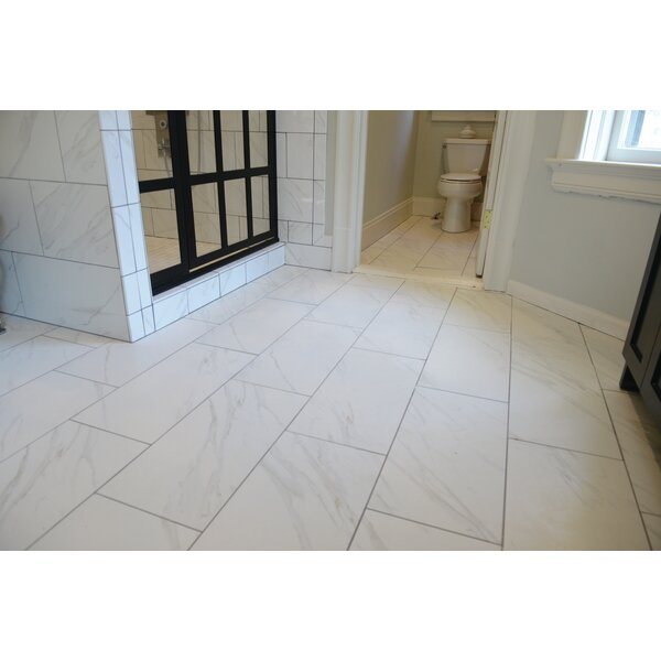 Florentine 12 x 24 Porcelain Field Tile in Carrara by Daltile