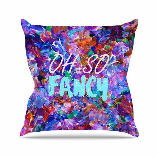 Ebi Emporium Oh So Fancy Outdoor Throw Pillow by East Urban Home