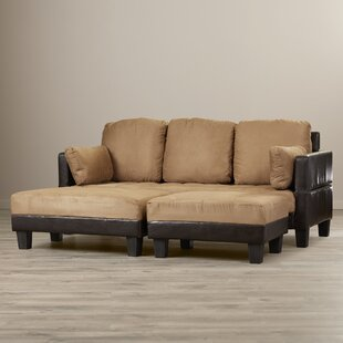 Cipriano Reversible Sectional with Ottoman