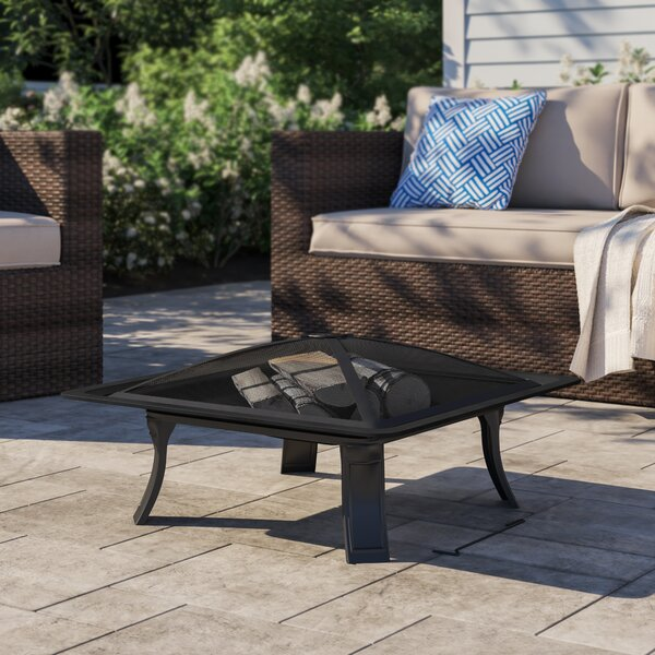 Dorset Steel Wood Burning Fire Pit By Sol 72 Outdoor