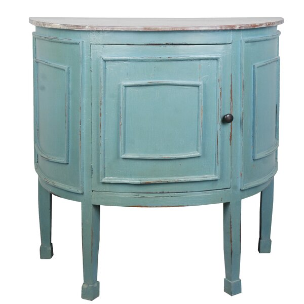 Wellfleet Half Round 1 Door Accent Cabinet by Rosecliff Heights Rosecliff Heights