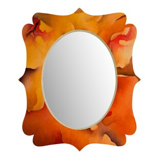 Deny Designs Brian Wall Morning Glory Quatrefoil Accent Mirror