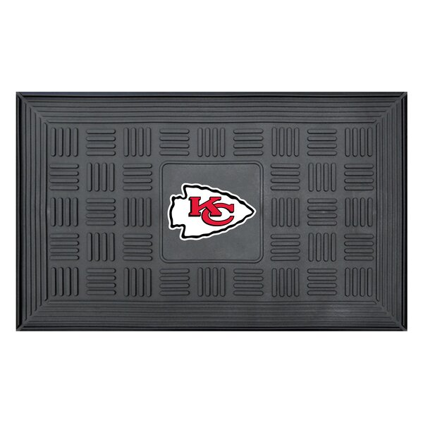 NFL - Kansas City Chiefs Medallion Doormat by FANMATS