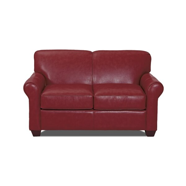 Jennifer Leather Loveseat By Klaussner Furniture