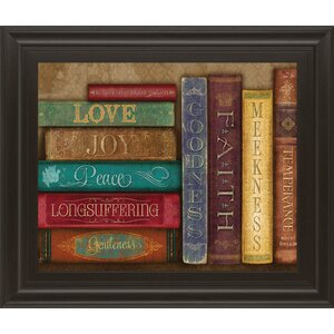Life Lessons II by Mollie B Framed Graphic Art by Classy Art Wholesalers
