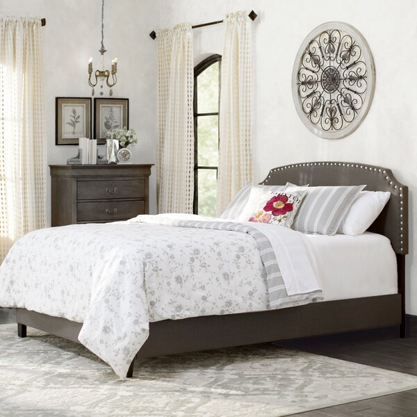 Dupre Upholstered Standard Bed by Lark Manor