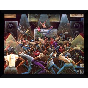 'Jump Off' by Frank Morrison Framed Painting Print by Amanti Art