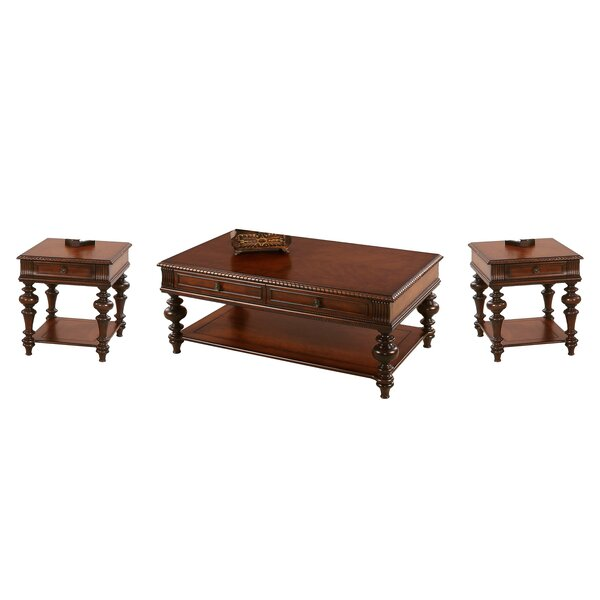 Review Turnham 3 Piece Coffee Table Set