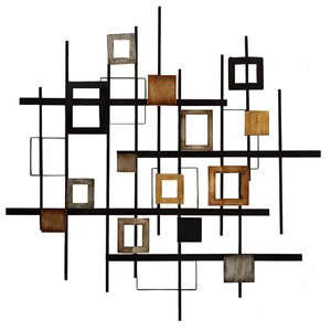 Abstract Wall Décor by Zipcode Design