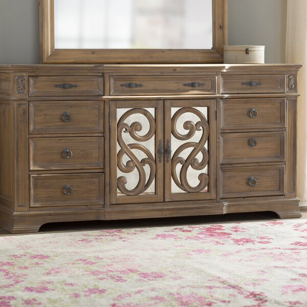 George 9 Drawer Combo Dresser by One Allium Way