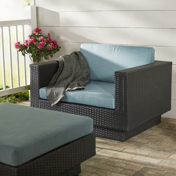 Chretien Patio Chair with Cushion by Brayden Studio