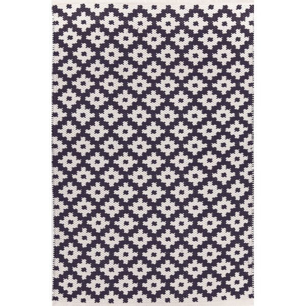 Samode Hand Woven Blue/White Indoor/Outdoor Area Rug by Dash and Albert Rugs